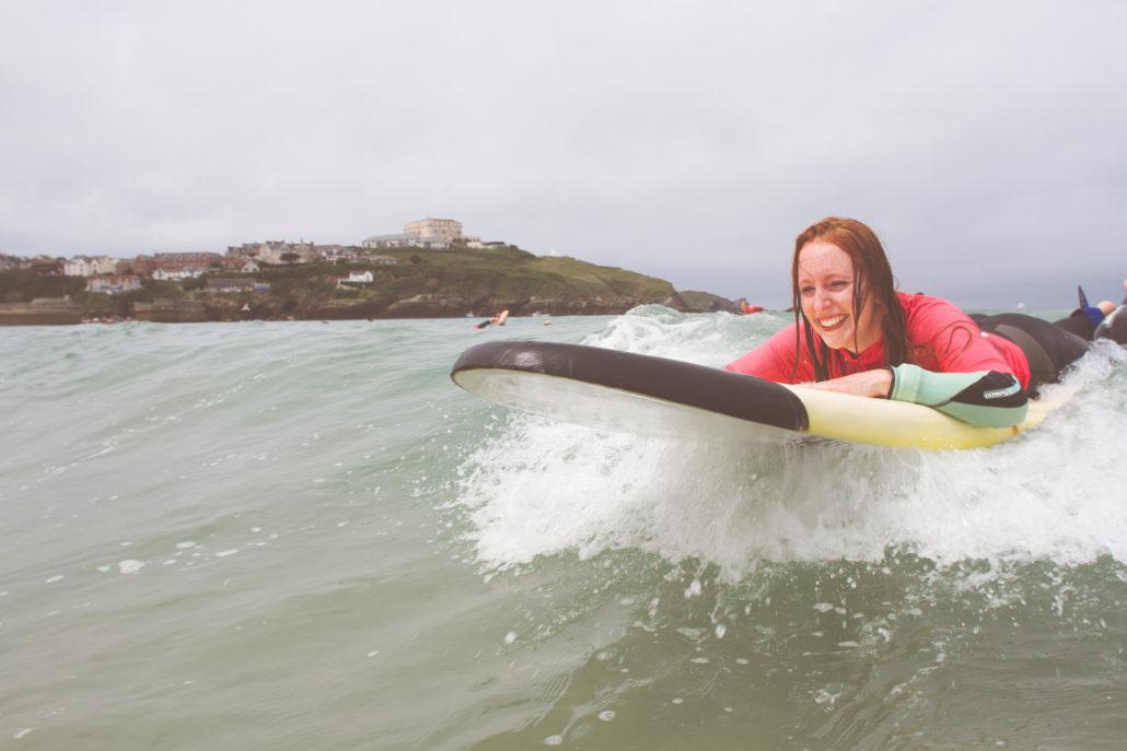 Corinne's Surf Tour Newquay